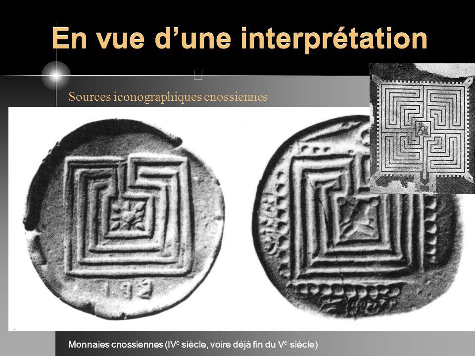Monnaies cnossiennes (IV e siècle, voire déjà fin du V e siècle) En vue dune interprétation
