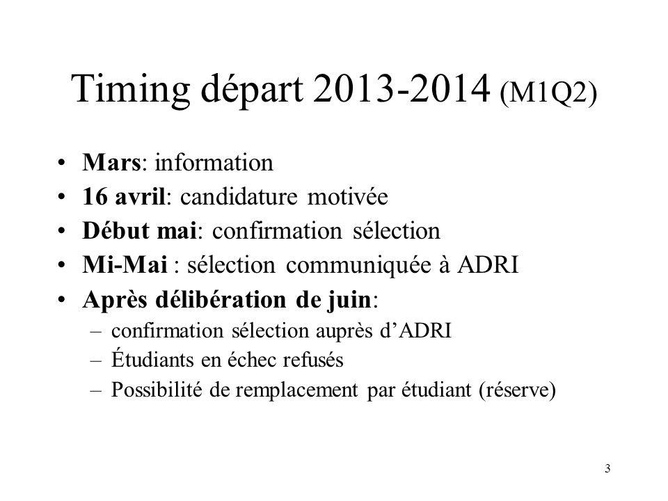 14 Accords bilatéraux 2013-2014