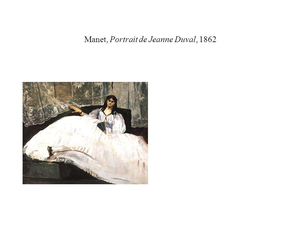 Manet, Melle Victorine Meurent en Espagnole (1862) … deux autres artistes, jeunes encore se sont manifestés avec une vigueur peu commune.