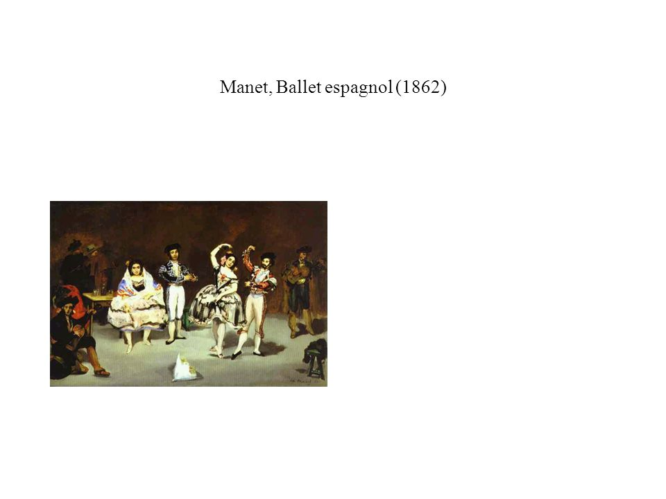 Manet, Lola de Valence (1862) LOLA DE VALENCE Entre tant de beautés que partout on peut voir, Je comprends bien, amis, que le désir balance ; Mais on voit scintiller en Lola de Valence Le charme inattendu dun bijou rose et noir.