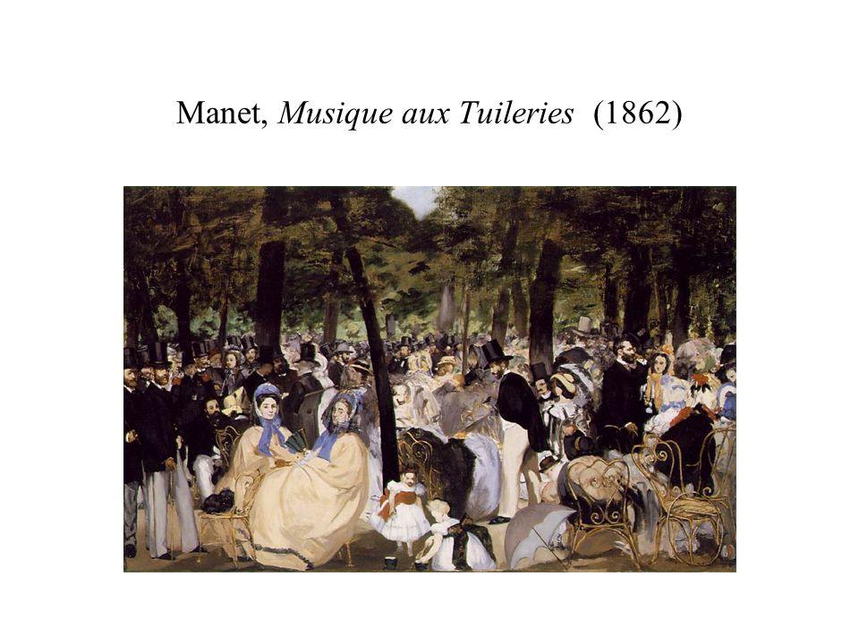 Baudelaire, La cordeManet, Le vieux musicien (1862) … en ange […].