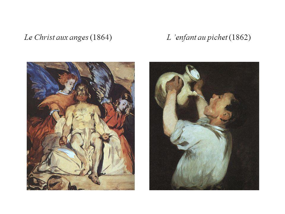Le Christ aux anges (1864)L enfant au pichet (1862)