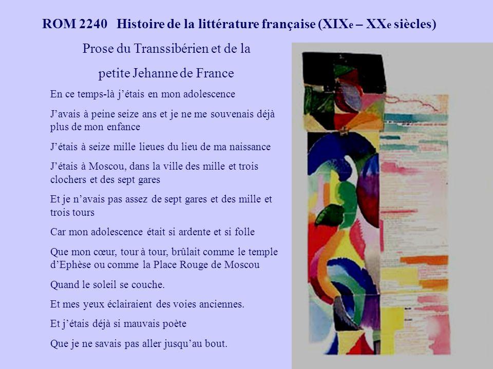 ROM 2240 Histoire de la littérature française (XIX e – XX e siècles) Antoine Sidoti, Genèse et dossier dune polémique.