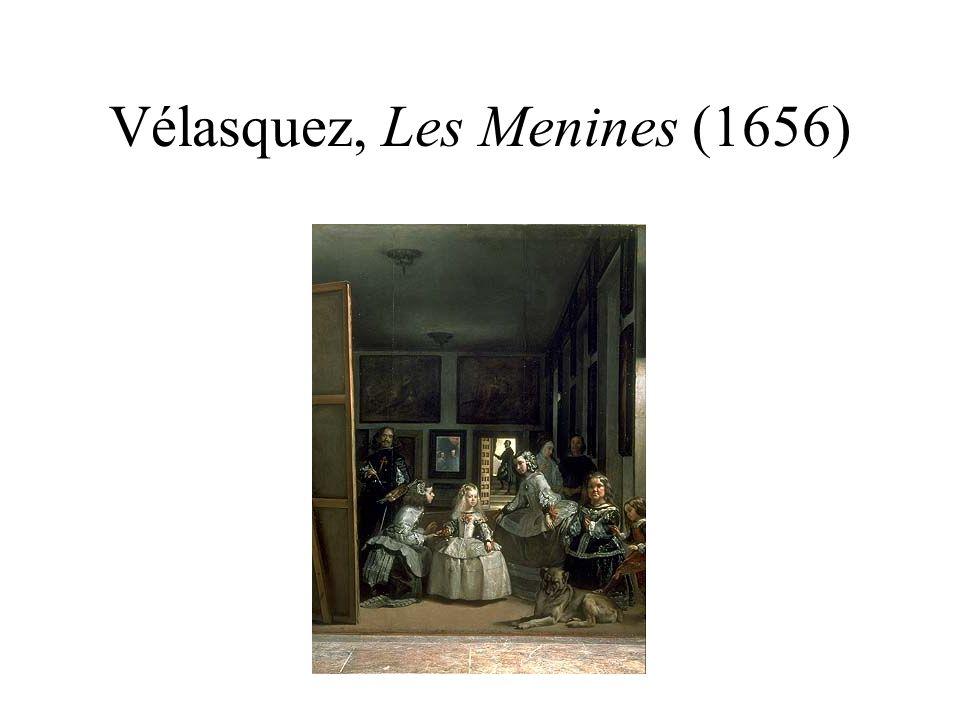 Richard Hamilton, Picasso s Meninas (1973) Le peintre est légèrement en retrait du tableau.