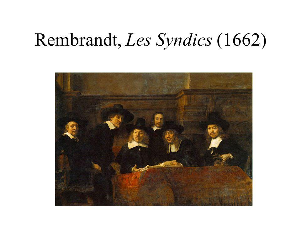 Rembrandt, Les Syndics (1662)