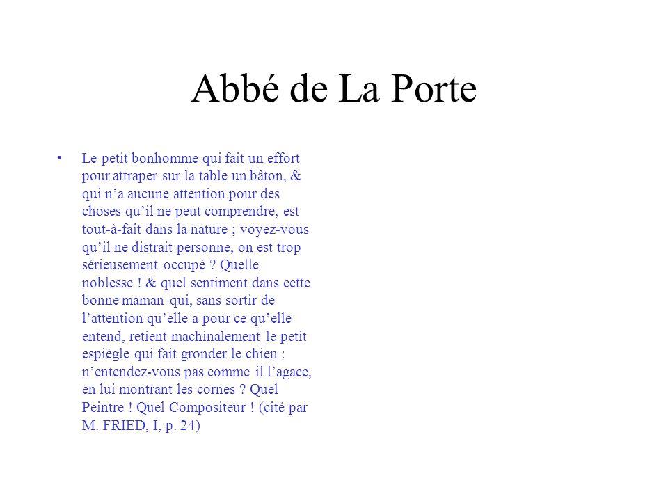 Abbé de Laugier/Chardin, Un philosophe occupé de sa lecture Ce caractére est rendu avec beaucoup de vérité.