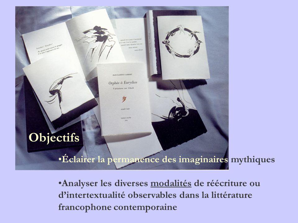 Outils bibliographiques Ouvrages qui permettent de prendre connaissance de la fortune dun mythe littéraire BRUNEL P.