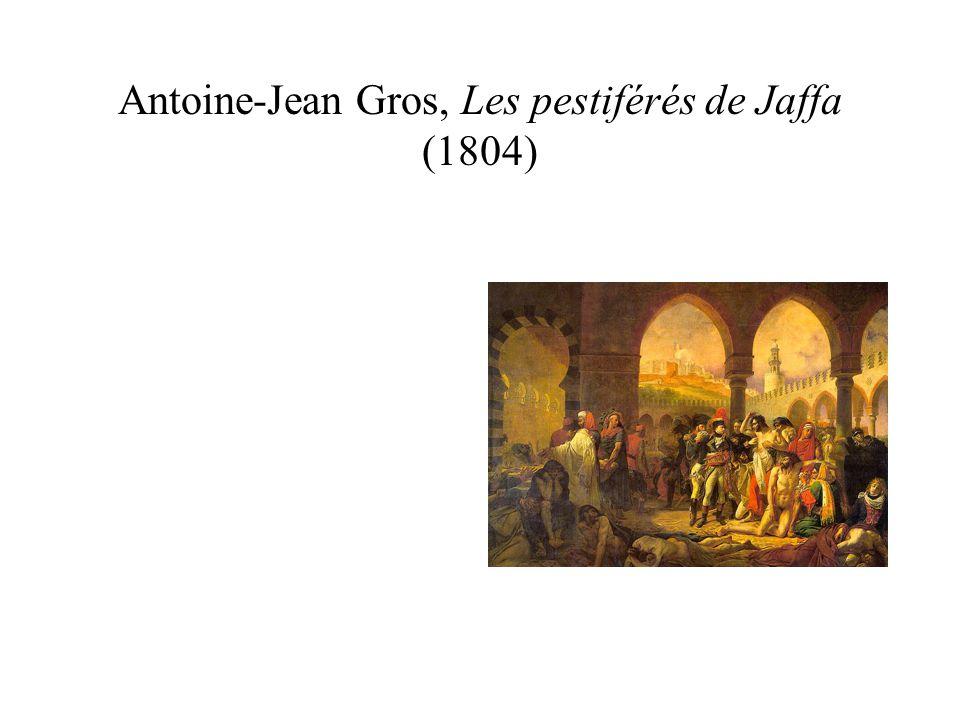 Antoine-Jean Gros, Les pestiférés de Jaffa (1804)