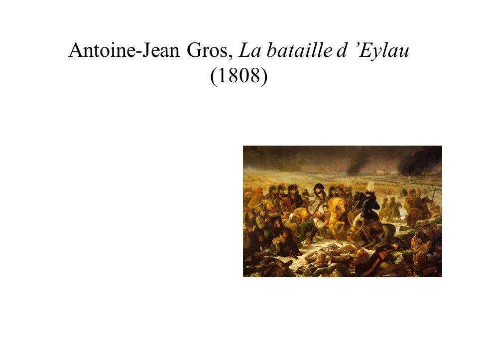 Antoine-Jean Gros, La bataille d Eylau (1808)