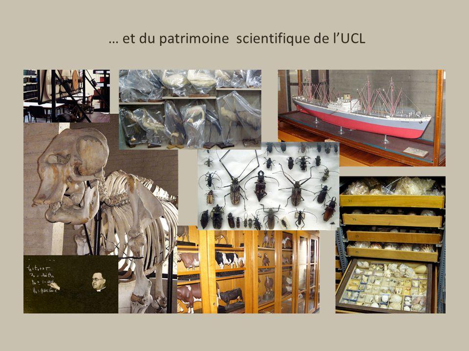 … et du patrimoine scientifique de lUCL