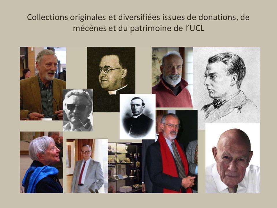 Collections originales et diversifiées issues de donations, de mécènes et du patrimoine de lUCL