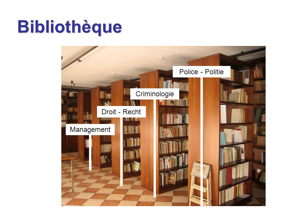 Bibliothèque Criminologie Droit - Recht Management Police - Politie