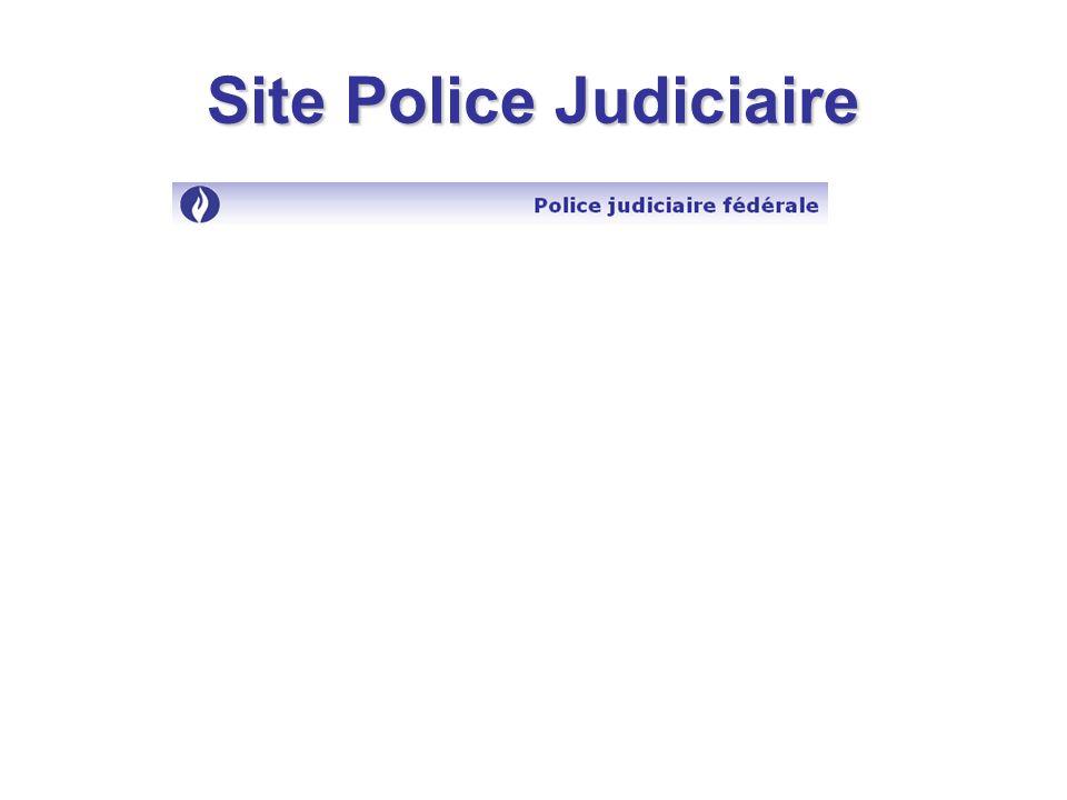 Site Police Judiciaire