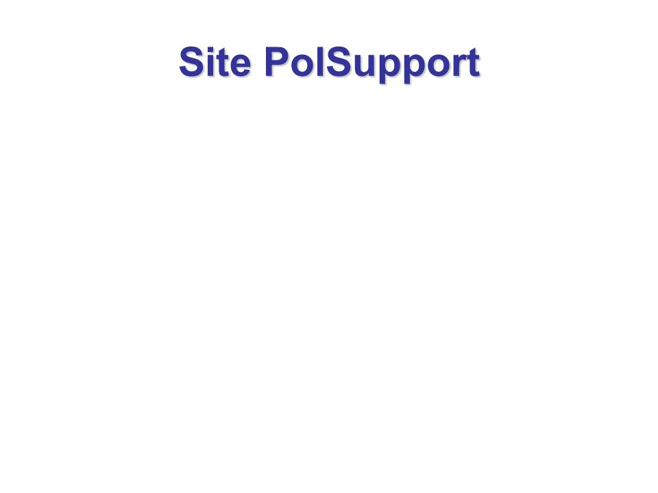 Site PolSupport