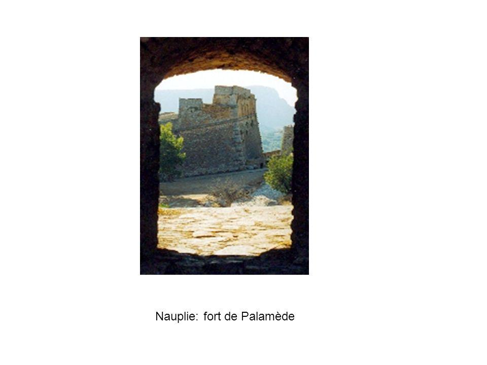 Nauplie: fort de Palamède