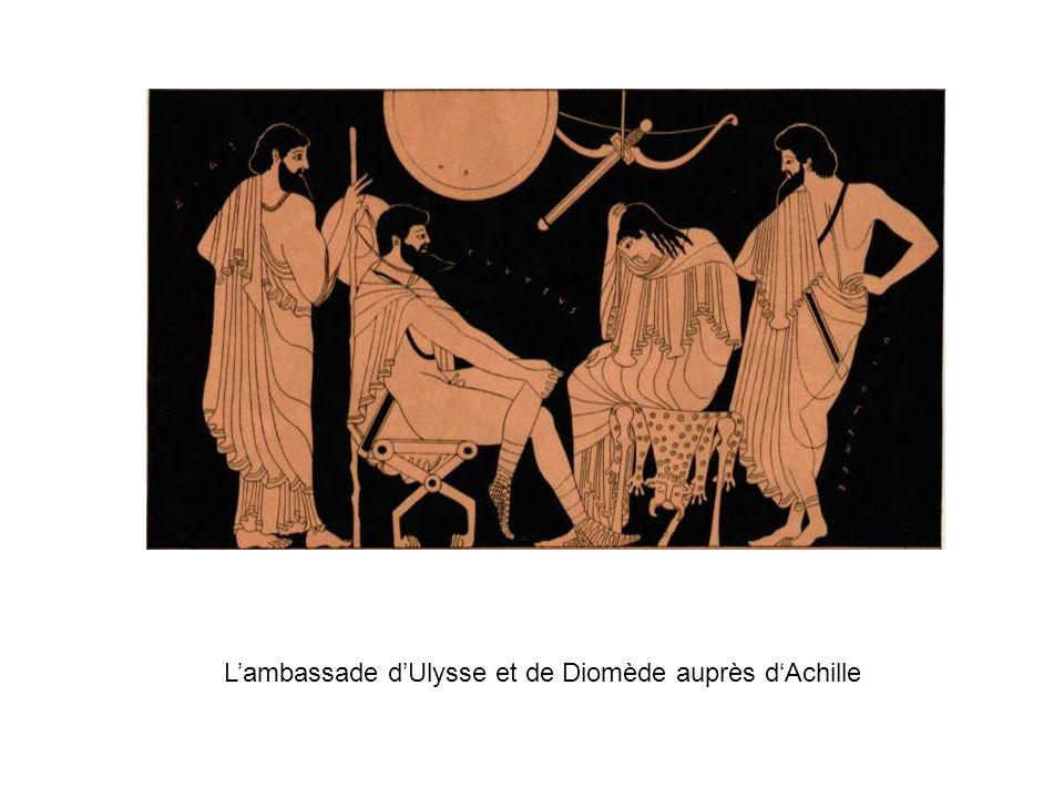 Lambassade dUlysse et de Diomède auprès dAchille