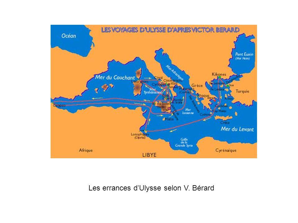 Les errances dUlysse selon V. Bérard