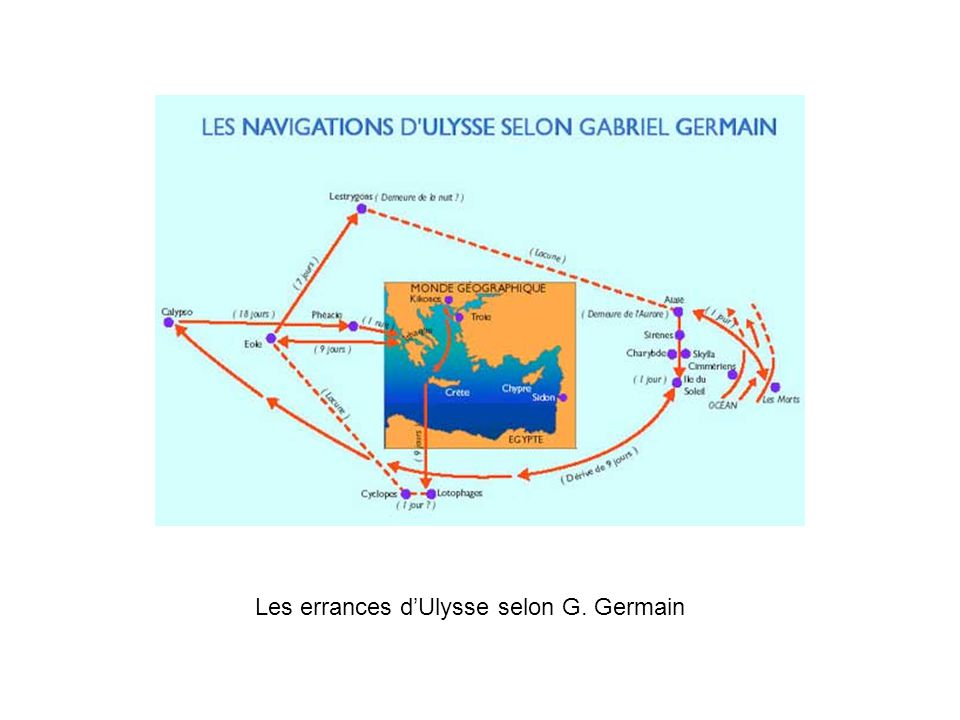 Les errances dUlysse selon G. Germain