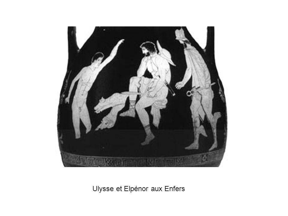 Ulysse et Elpénor aux Enfers
