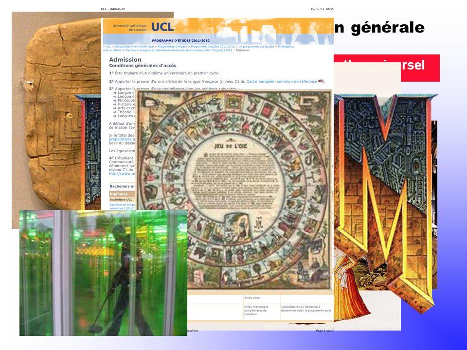 Présentation générale 1. Le labyrinthe, un mythe universel