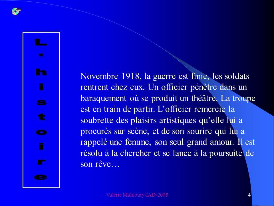 Valérie Malnoury-IAD-20053 Don Juan revient de guerre Ödön von Horvàth Quand : jeudi 26 mai 2005 Au grenier à 20 heures Où : Au grenier à 20 heures pr