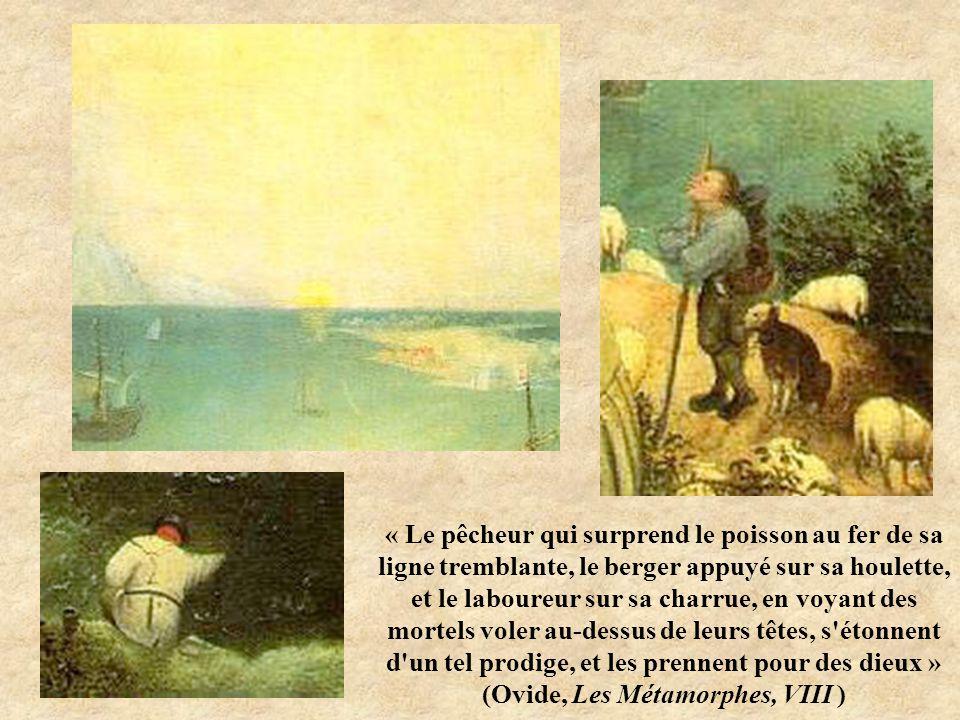 Détails « Le pêcheur qui surprend le poisson au fer de sa ligne tremblante, le berger appuyé sur sa houlette, et le laboureur sur sa charrue, en voyan