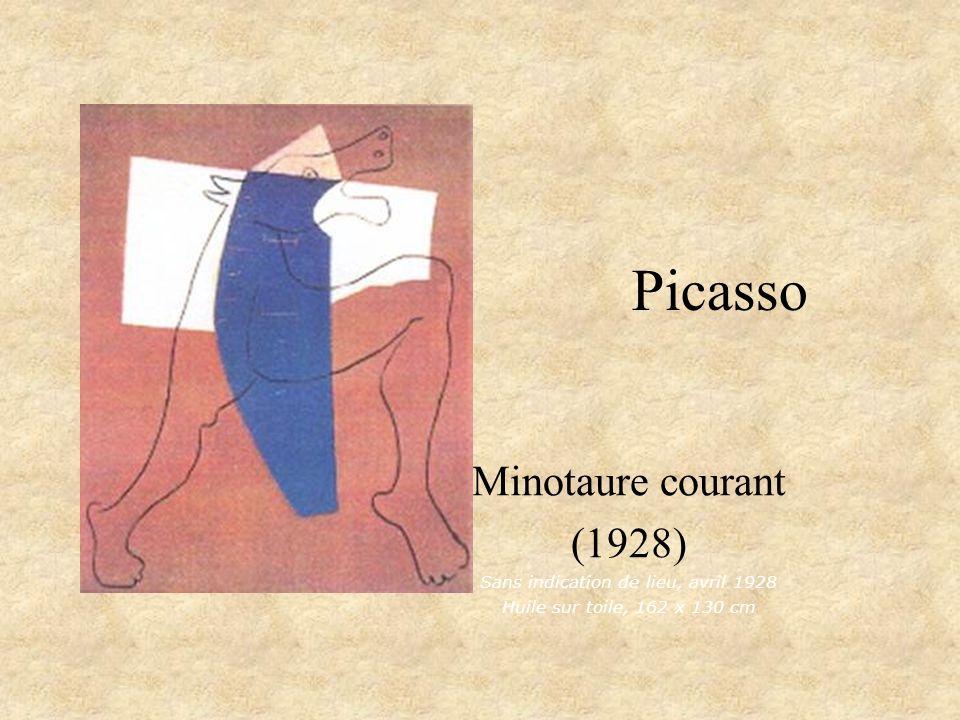 Picasso Minotaure avec un poignard Minotaure assis avec un poignard, IV Paris, 11 avril 1933 Minotaure assis avec un poignard, III Paris, 11 avril 1933 Eau-forte, 26,9 x 19,4 cm
