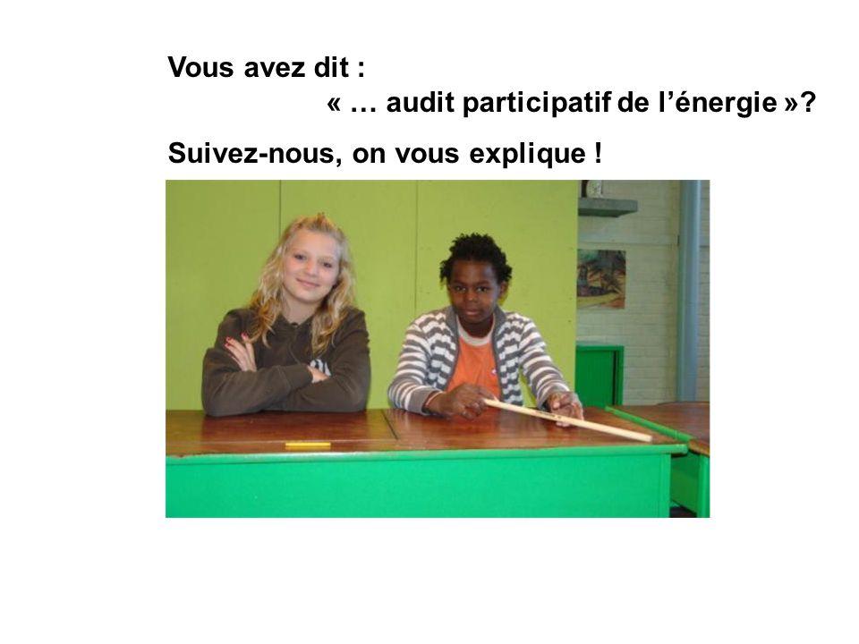 Vous avez dit : « … audit participatif de lénergie »? Suivez-nous, on vous explique !
