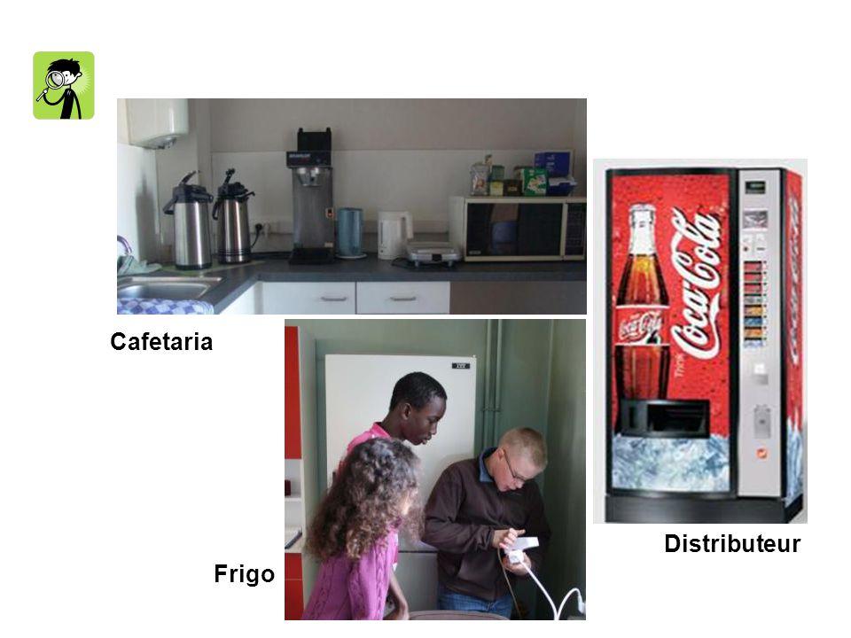 Cafetaria Frigo Distributeur