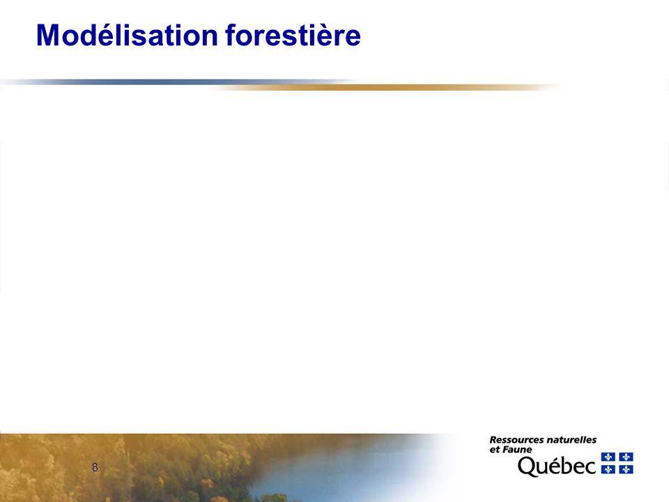 8 Modélisation forestière