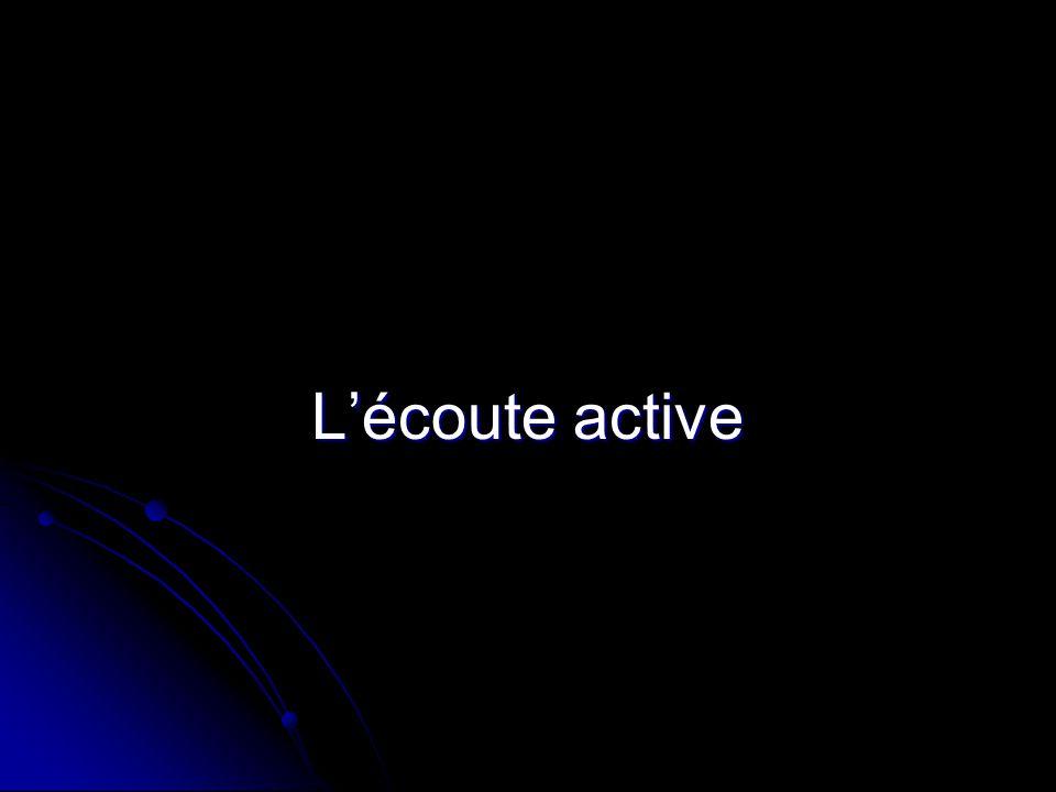 Lécoute active