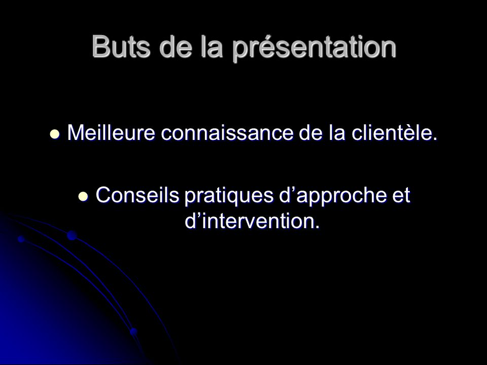 DÉROULEMENT DE LA RENCONTRE Présentation des animatrices et de lorganisme.