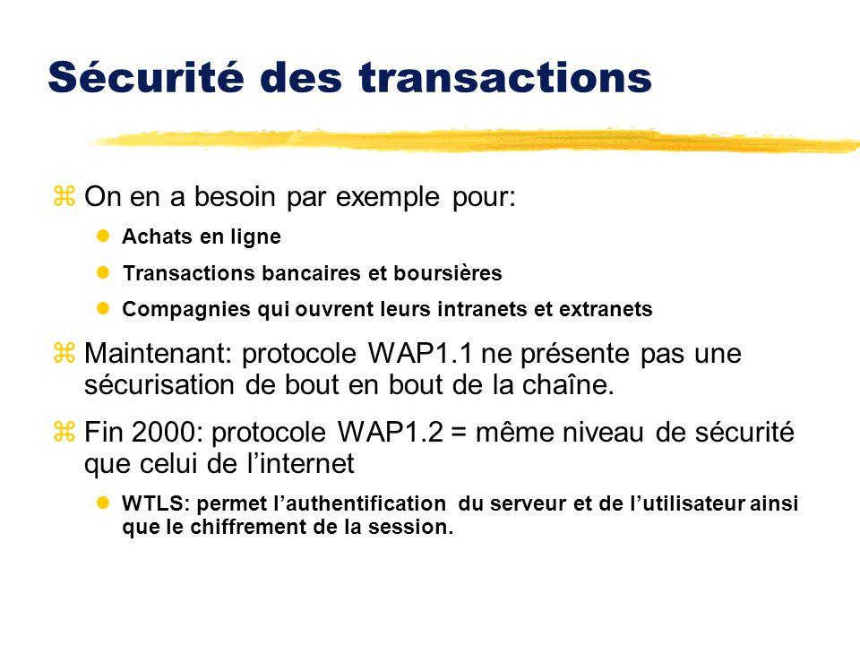 Sécurité des transactions zOn en a besoin par exemple pour: lAchats en ligne lTransactions bancaires et boursières lCompagnies qui ouvrent leurs intra
