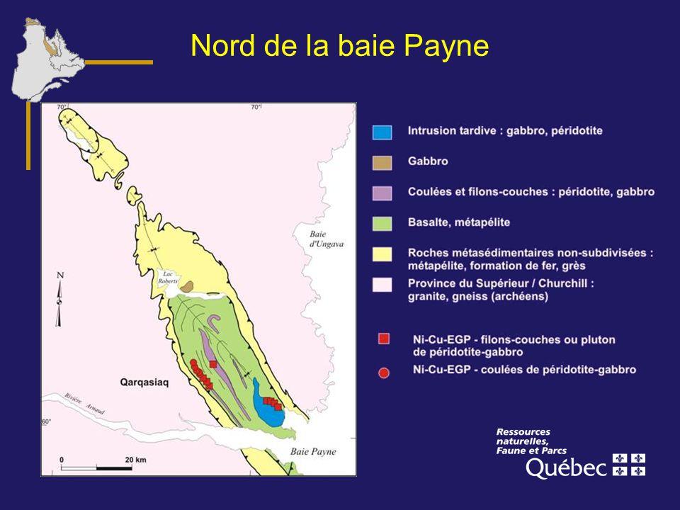 Nord de la baie Payne