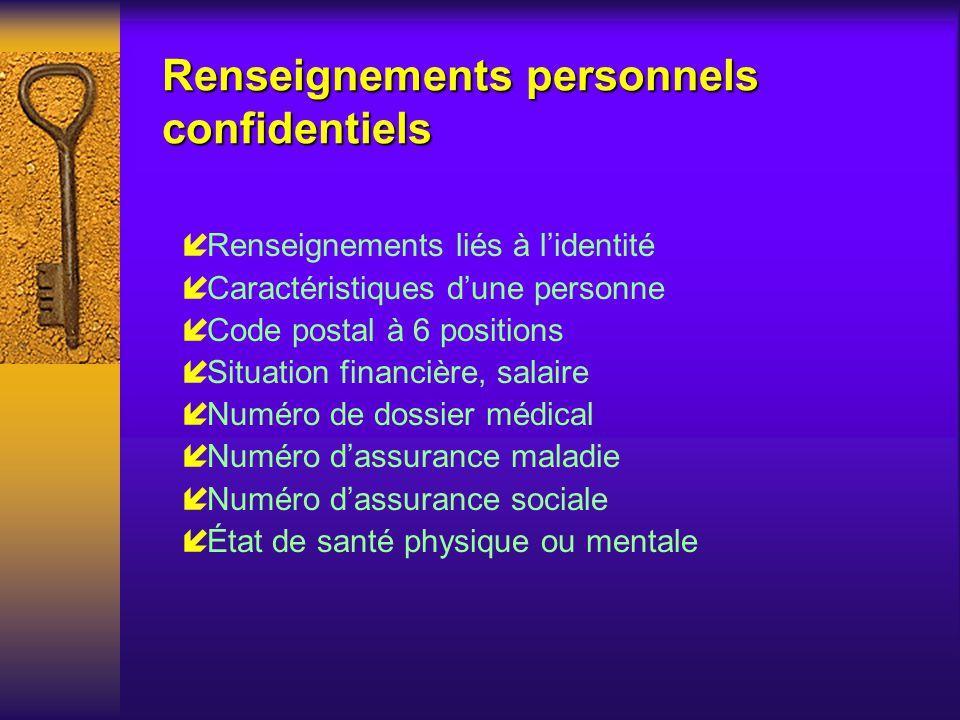 Courrier électronique et protection des renseignements personnels Merci de votre attention...