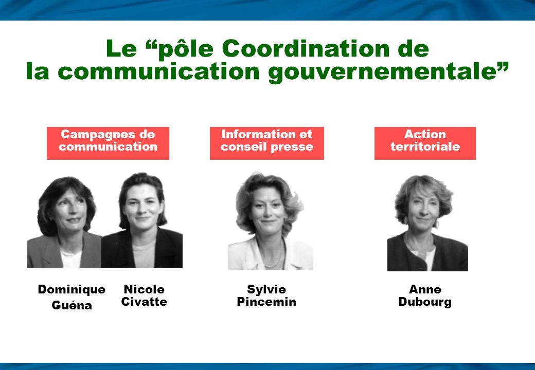 Jean-Laurent Poli Diane Antébi-Spatzierer Benoit Thieulin PublicationsArgumentsMultimédia Le pôle Information sur laction du Gouvernement