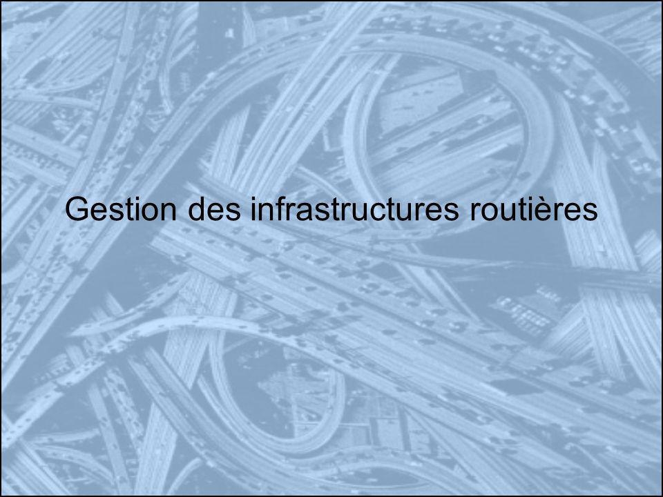 Gestion des infrastructures routières