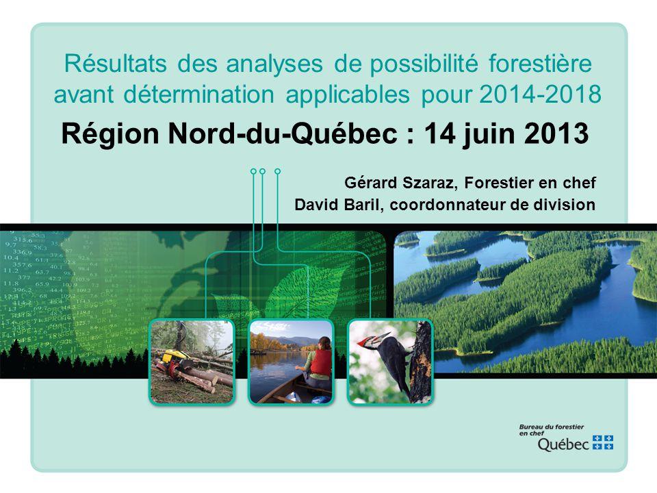 3. Contribution à laménagement durable des forêts / Illustration des analyses