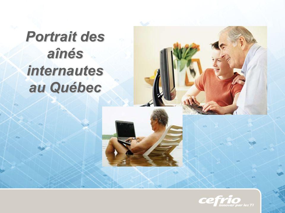 Portrait des aînés internautes au Québec
