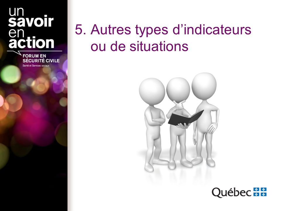 5.Autres types dindicateurs ou de situations