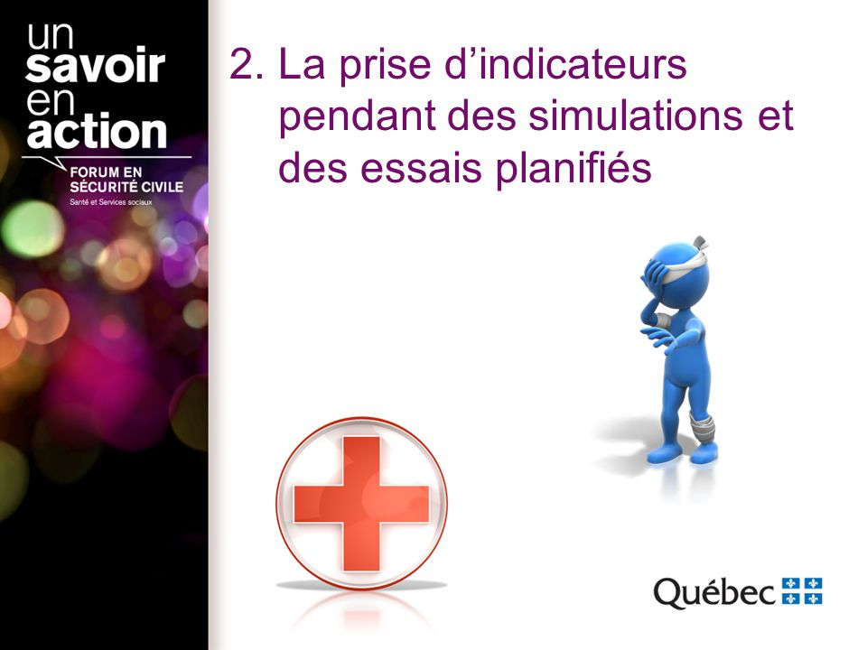 3.Les indicateurs selon le type de sinistres