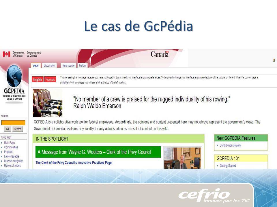 Le cas de GcPédia