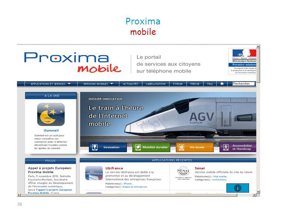 36 Proxima mobile