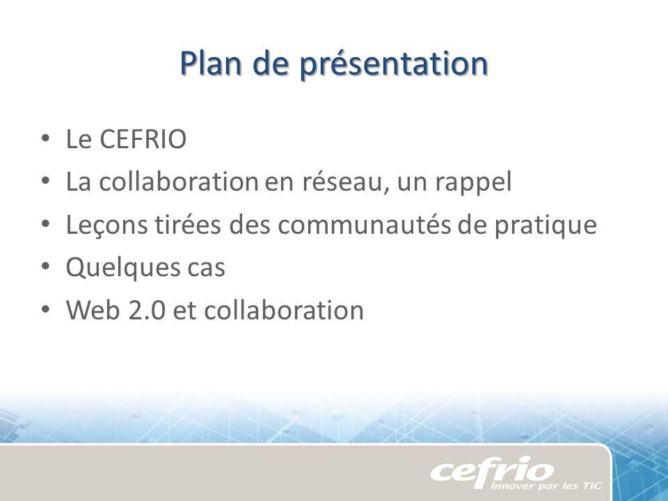 Notre mission « Contribuer à faire du Québec une société numérique, grâce à lusage des technologies comme levier de linnovation sociale et organisationnelle.