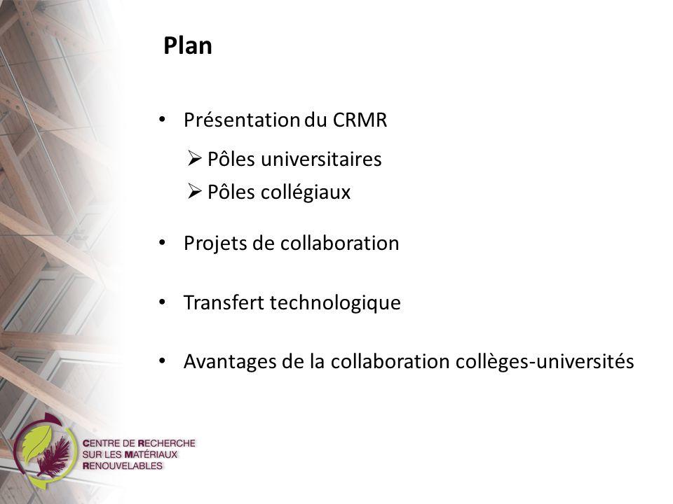 Présentation du CRMR Composition
