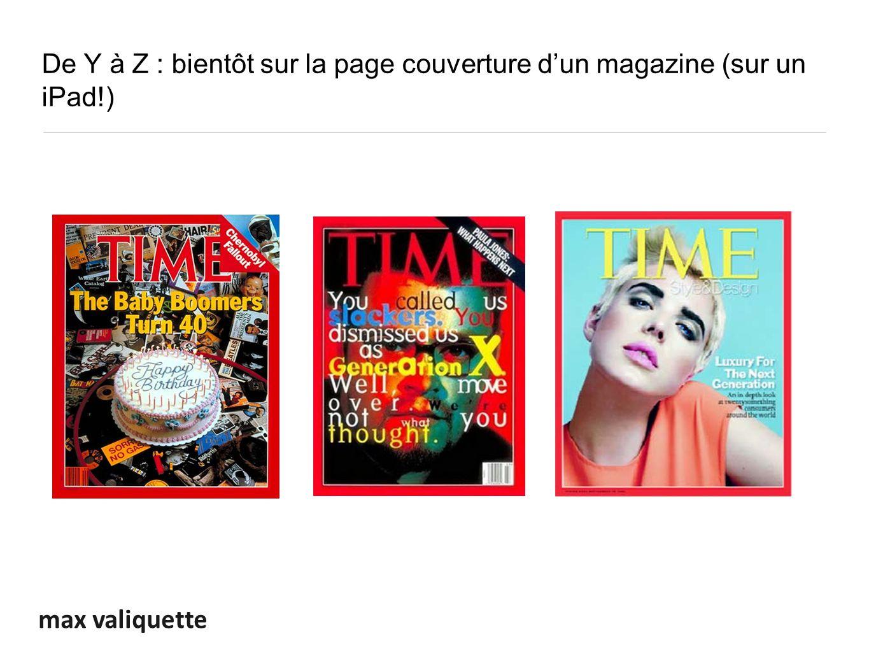 max valiquette De Y à Z : bientôt sur la page couverture dun magazine (sur un iPad!)