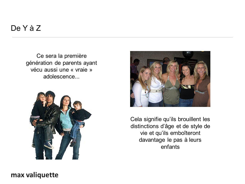 max valiquette Ce sera la première génération de parents ayant vécu aussi une « vraie » adolescence...