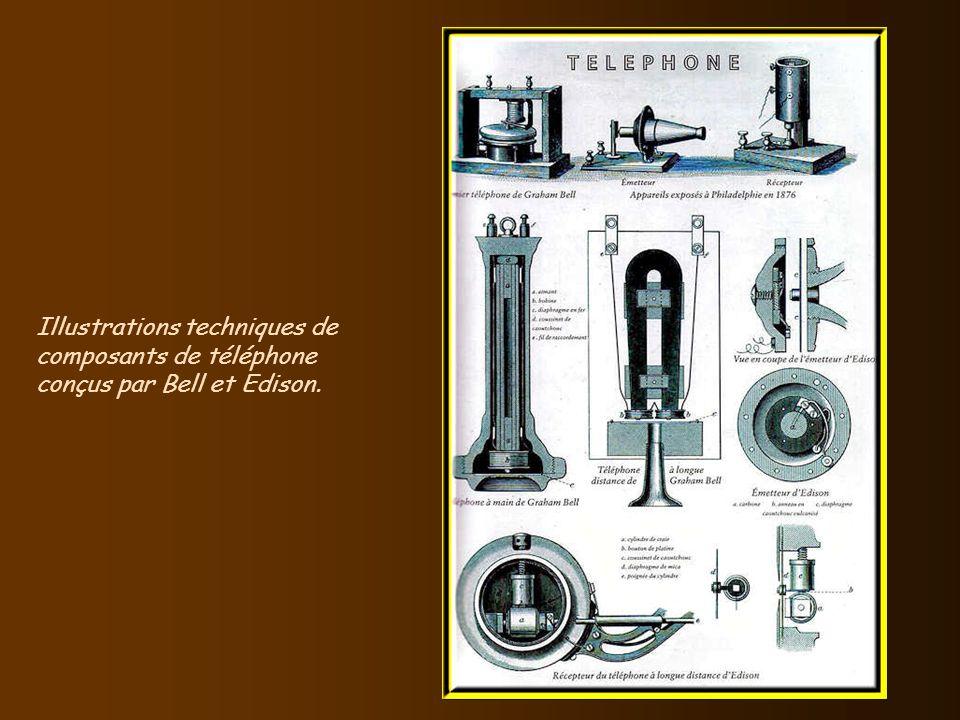 Cette même année 1876, Alexander Graham Bell inaugura lère de la communication moderne. Seize ans après linvention du téléphone, Bell passe le premier