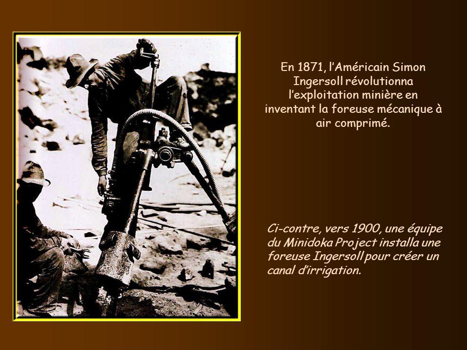 En 1858, lAméricain Ezra Warner fit breveter le premier ouvre-boîte. Il était doté dune lame pointue et dune garde pour que la lame ne pénètre pas tro