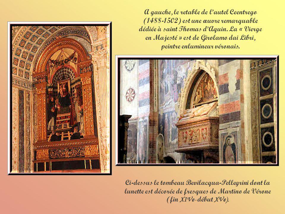 Lautel Mazzoleni (1592) est dédié à la sainte dominicaine Sainte Rose de Lima.